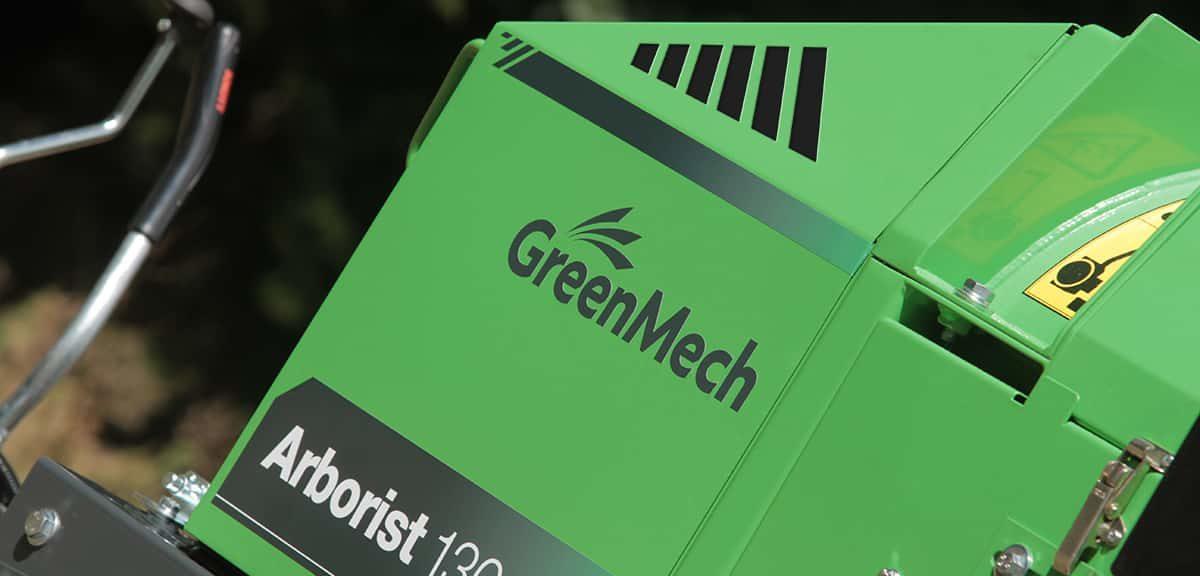 Arborist130 broyeur compact greenmech en vente chez nova paca