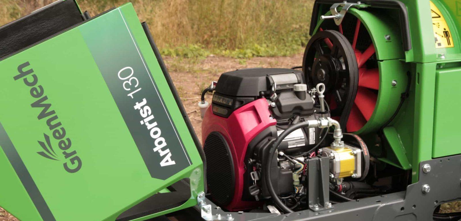 moteur Arborist130 broyeur compact greenmech en vente chez nova paca