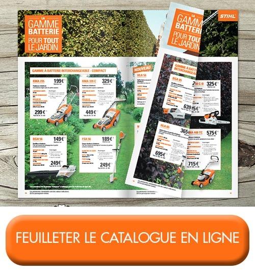 consulter notre catalogue d'offres stihl materiels espaces verts printemps été