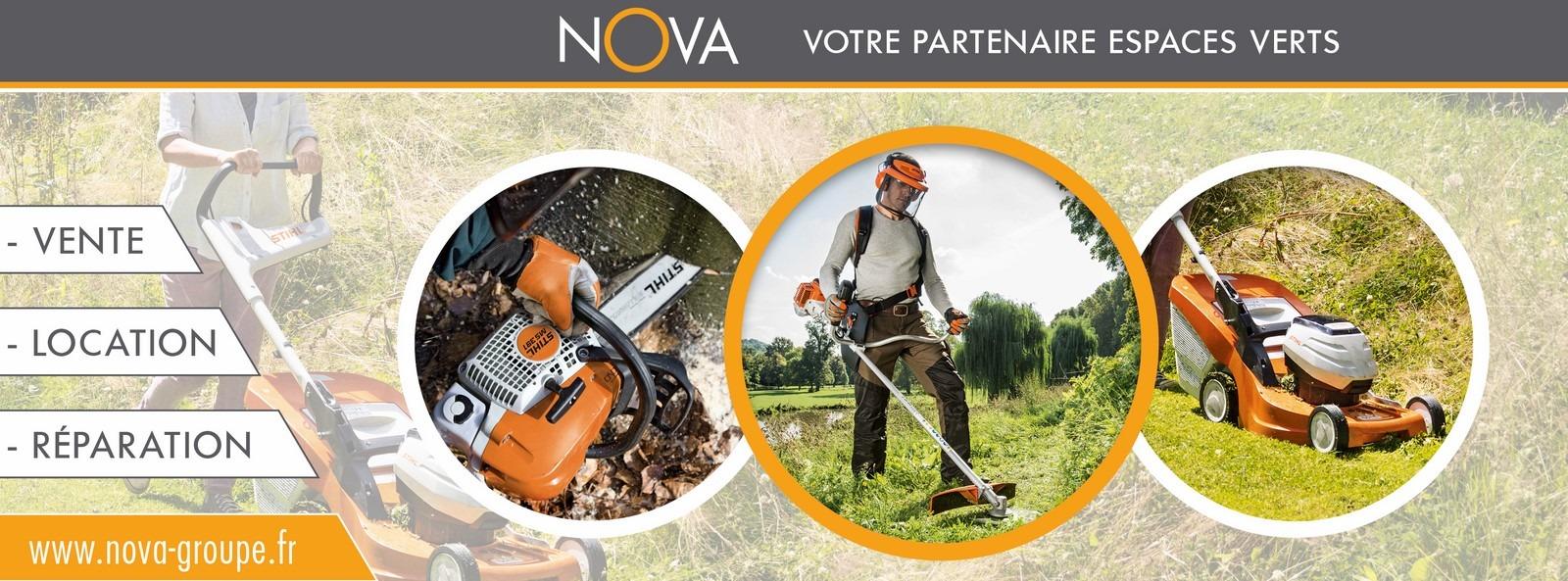 materiel entretien espace vert stihl viking NOVA