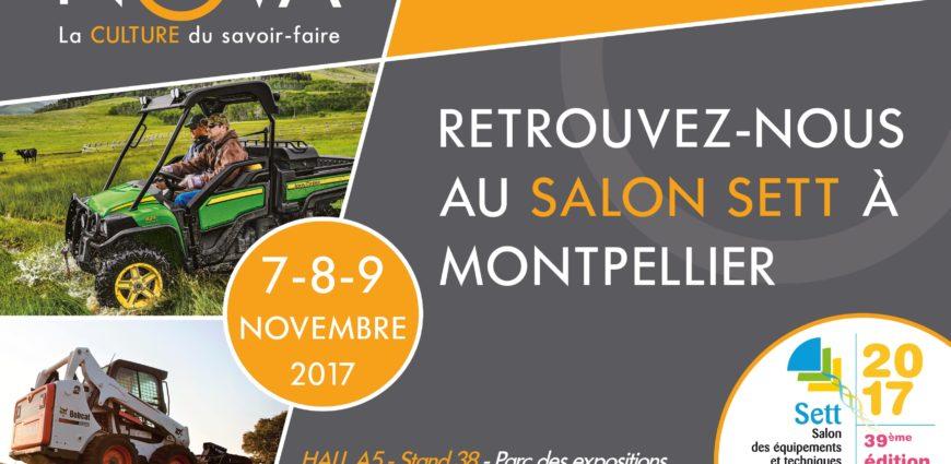 Nova stand A38 Hall 5 au salon SETT camping montpellier 7-9 novembre 2017