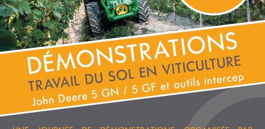 NOVA participera à la DEMONSTRATION de matériels du travail du sol INTERCEP le Mardi 14 Novembre à 13h30 à coté du restaurant l'escale des vins, RN7 entre Cazan et Lambesc. En partenariat avec la chambre d'agriculture 13