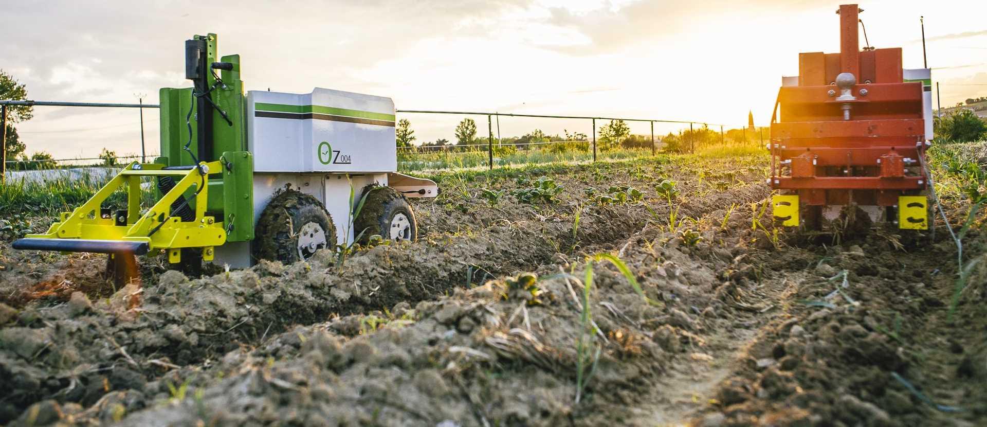 Le robot de desherbage naio permet une assistance au maraichage et pepinieres. A découvrir chez nova 12 agences dans le sud-est en région PACA - Aix - Arles - Nîmes - Avignon. Département 13-30-84-26-83-04-05-06
