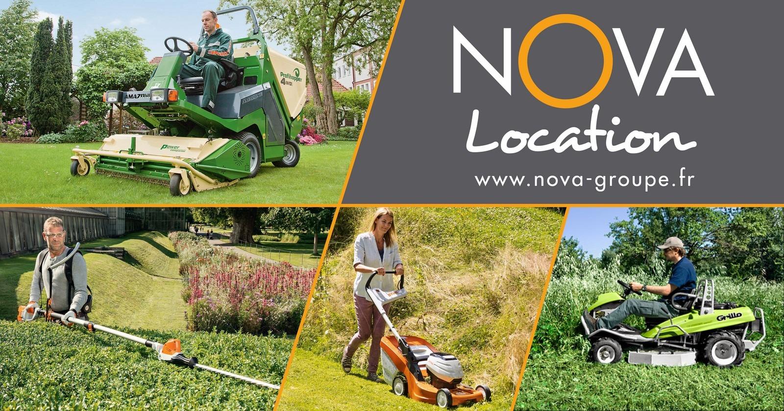 Location matériel agricole espaces verts btp, tracteur broyeur de branches , tondeuse, mini pelle bobcat, chargeuse bobcat, amazone tondobalai nova