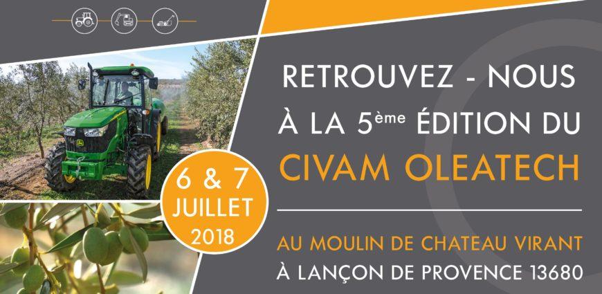 affiche civam oleatech 2018
