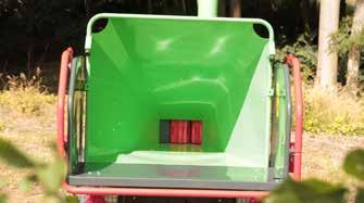 goulotte alimentation broyeur compact greenmech arborist 130 nova paca