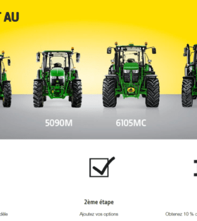 Tracteurs john deere le confort au juste prix chez Nova