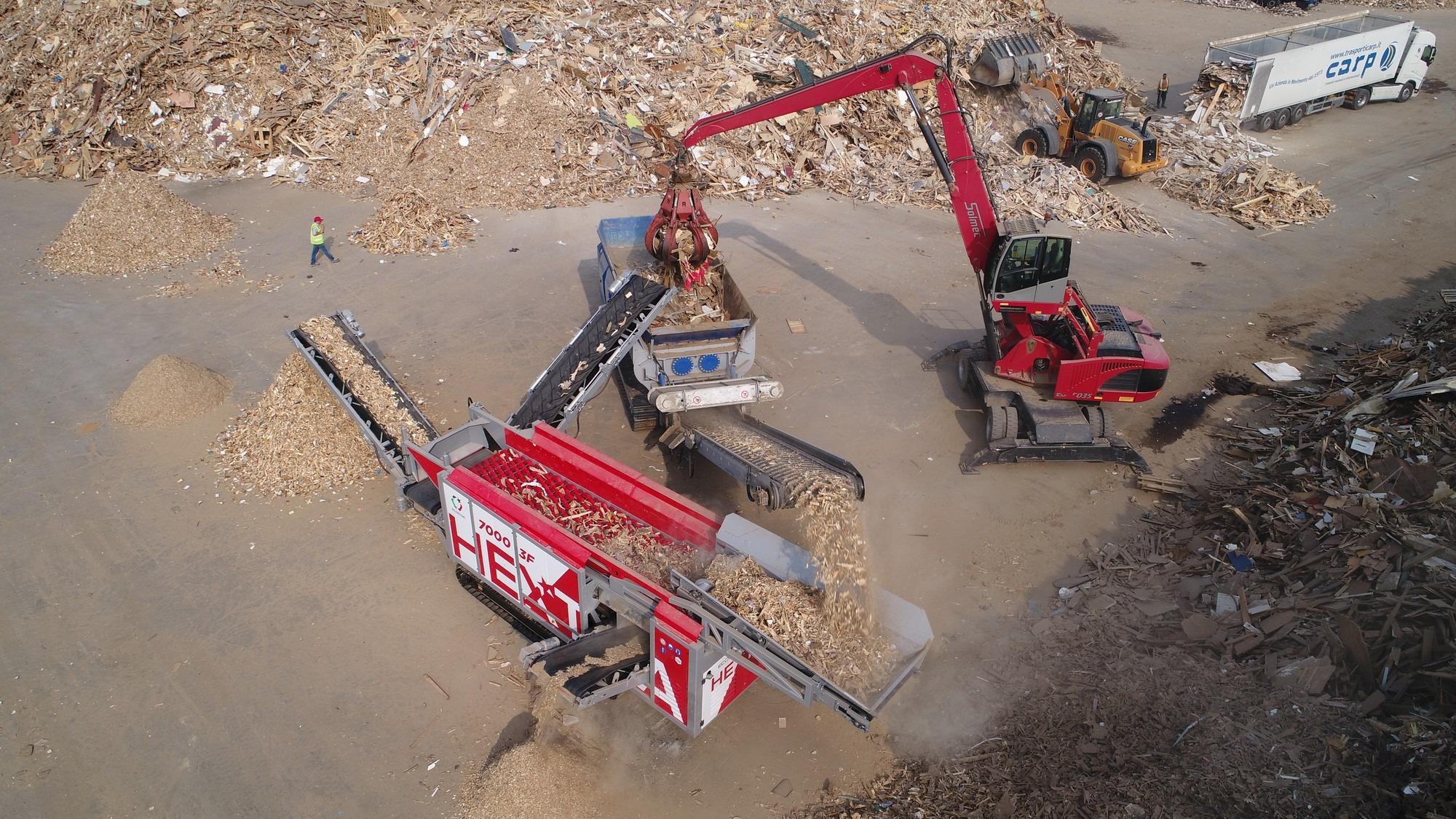 ecostar hextra broyeur bois shredder