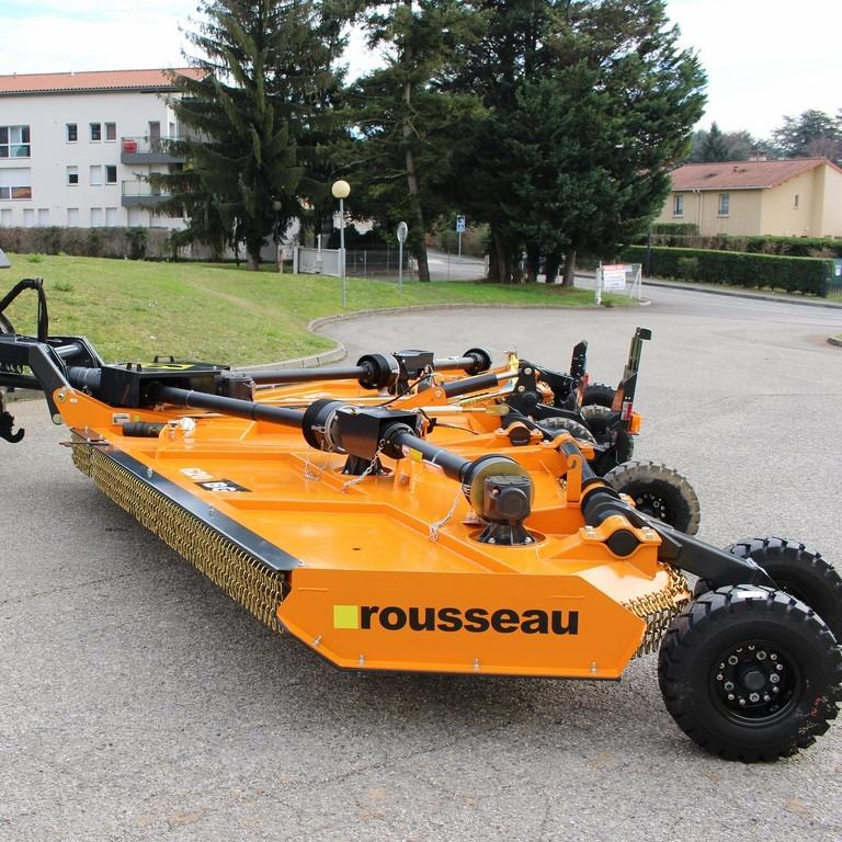BGL Semi-portés Rousseaux, Gamme agricole, technipro, électrique TP, Broyeurs grandes largeurs, turbotondeuses
