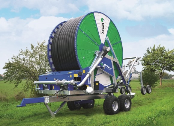 Enrouleur G4 IRTEC, Rampes, Pompes centrifuges, groupes motopompes, groupes motopompes autoamorçantes Têtes et courbes de prises d'eau, Pivot System