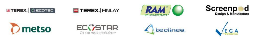 Gamme environnement recyclage concassage cribles chez NOVA PACA . Terex Ecotec, , Terex Finlay, Ecostar, Ram environnement, Teclinea, Screenpod, Vega.