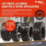 promotion bobcat SEPT OCTOBRE 2019 -10% de remise sur tous les pneus BOBCAT
