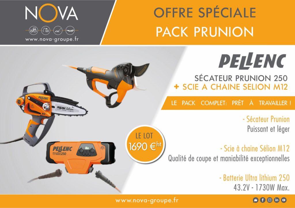 offre secateur PELLENC 250 et tronco SELION M NOVA PACA