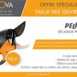 secateur PELLENC 150P taille fruitiers oliviers vignes