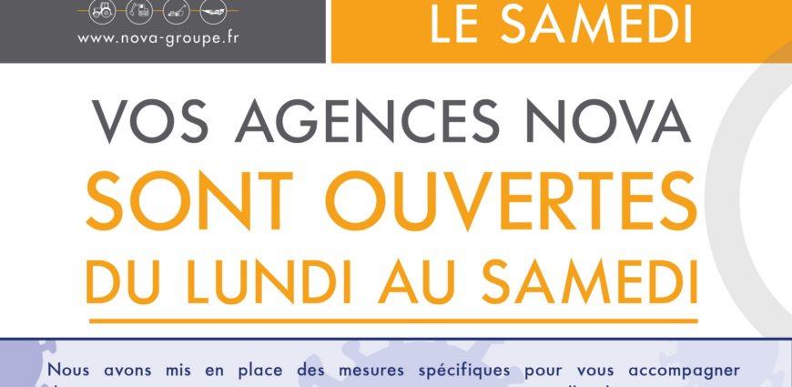 REOUVERTURE AGENCES SAMEDI NOVA CORONAVIRUS 05 2020 (web)