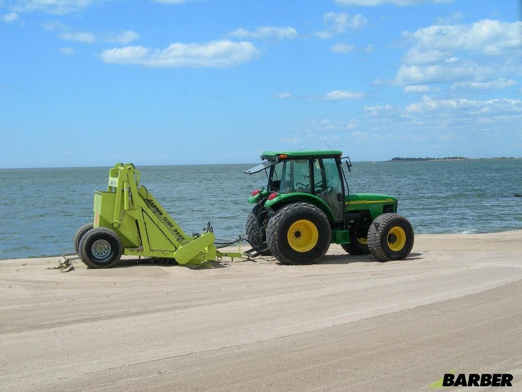 Vente achat location de matériels de nettoyage des plages BARBER chez NOVA. 12 agences dans le sud-est en région PACA - Aix - Arles - Nîmes - Avignon. Département 13-30-84-26-83-04-05-06