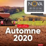 operation offres automne 2020 promodis nova materiel agricole region paca