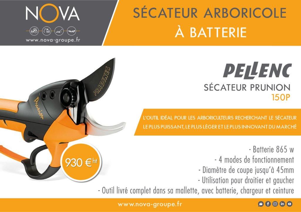 secateur arboricole olives PELLENC 150 09 2020