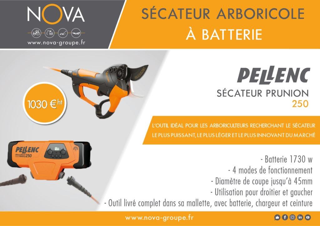 secateur PELLENC 250 09 2020