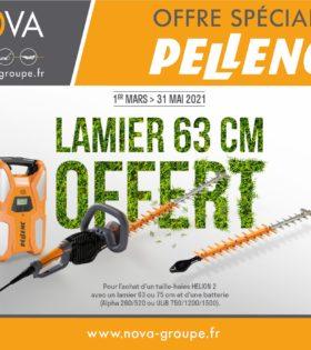 pellenc offre lamier offert 2021