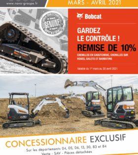 promotion bobcat chenilles mars avril 2021 (NOVA)