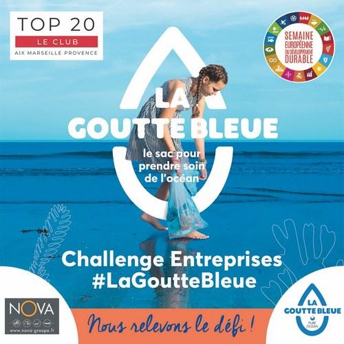 pop up nova challenges entreprises club top 20 pure ocean la goutte bleue 2021